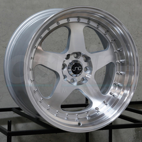 JNC Wheels 010 Silver Machine Face