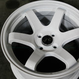 JNC Wheels 014 White