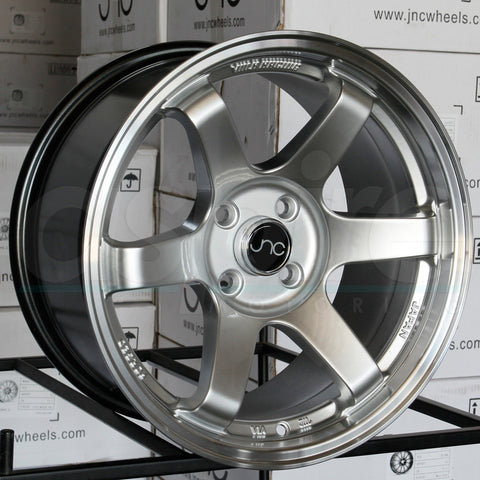 JNC Wheels 014 Hyper Silver Machine Lip
