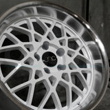JNC Wheels 016 White Machine Lip