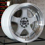 JNC Wheels 017 White Machine Lip