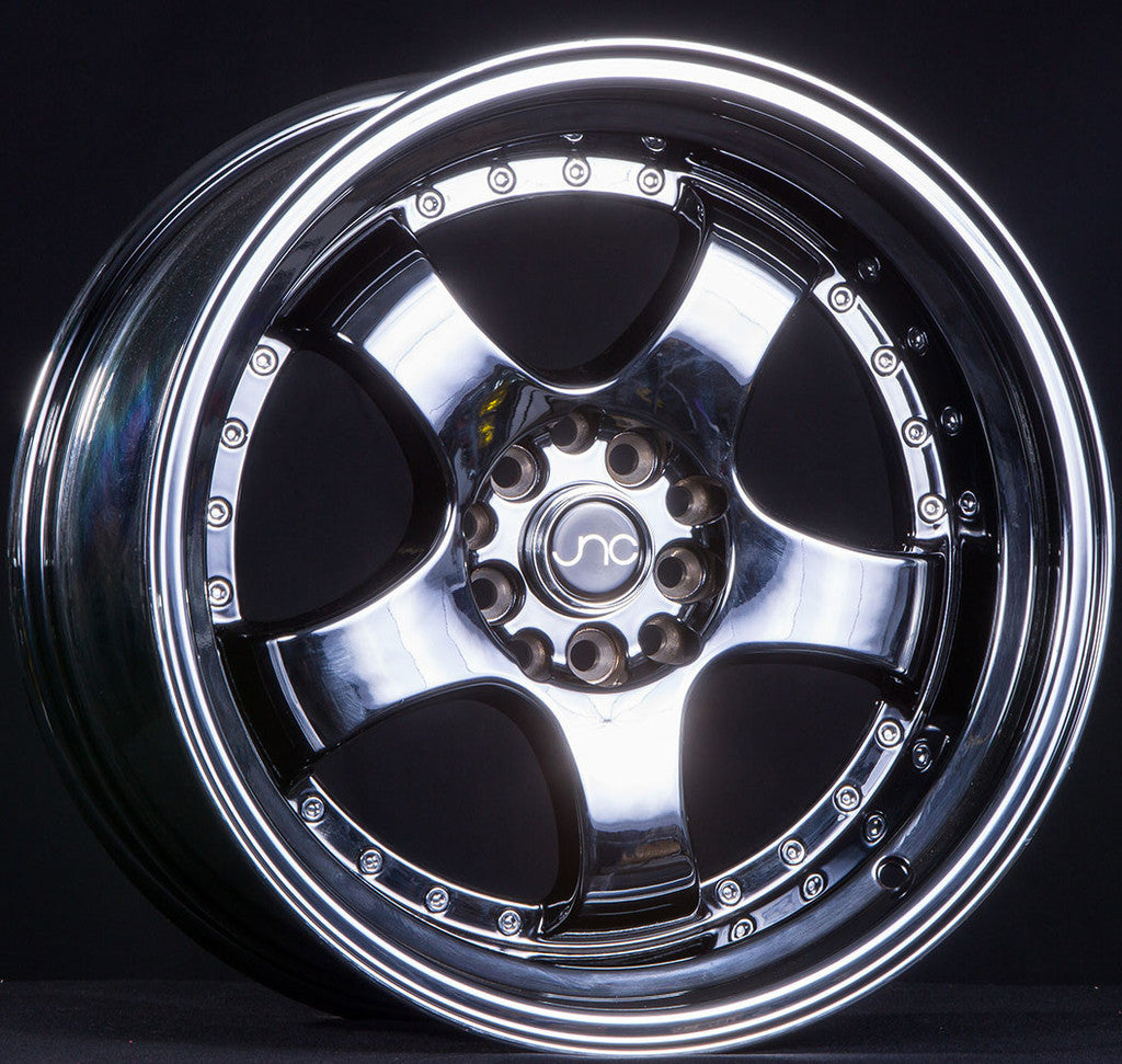 JNC Wheels 017 Chrome Black