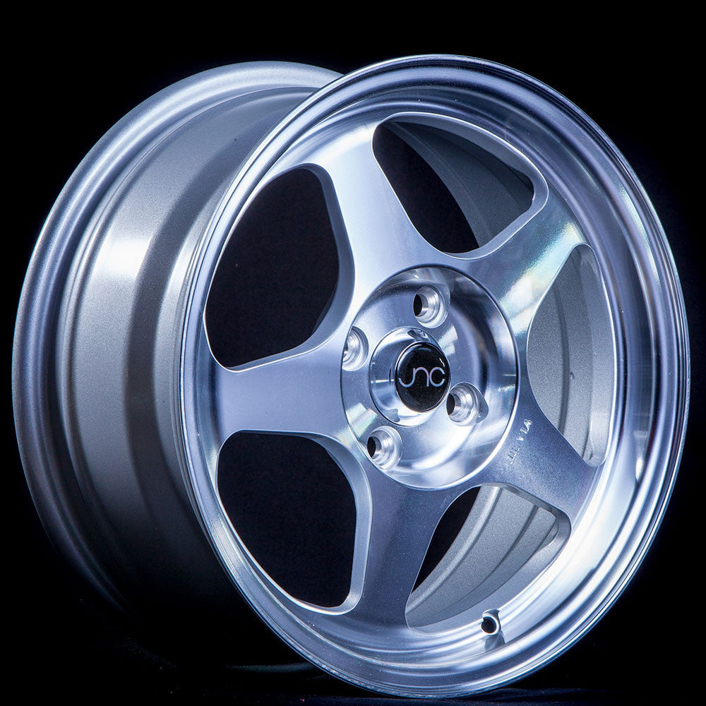 JNC Wheels 018 Silver Machine Face