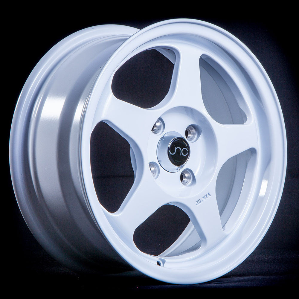 JNC Wheels 018 White