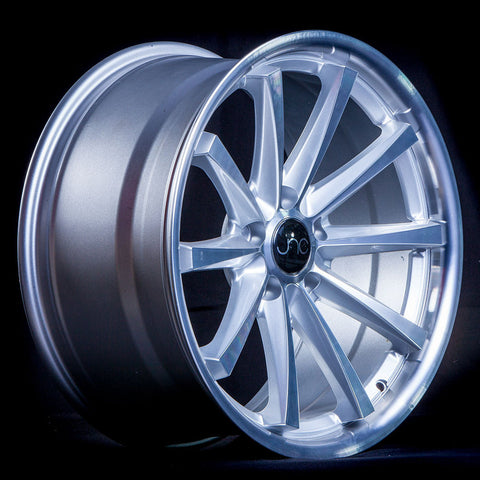 JNC Wheels 028 Silver Machine Face