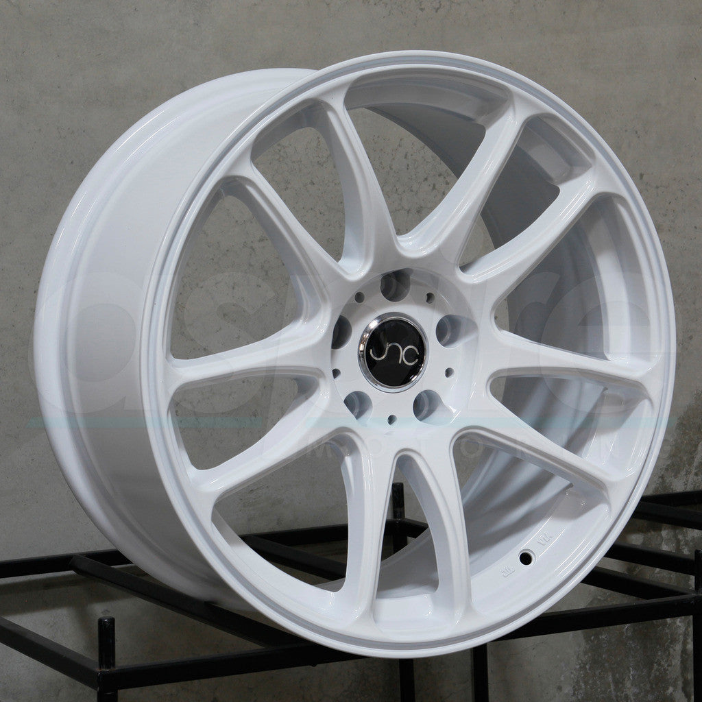 JNC Wheels 030 White
