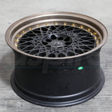 JNC Wheels 031 Matte Black Machine Bronze.