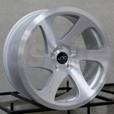 JNC Wheels 032 Silver Brushed