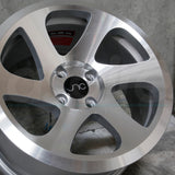 JNC Wheels 032 Silver Machine Face