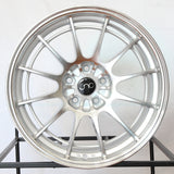 JNC Wheels 033 Silver Machine Face