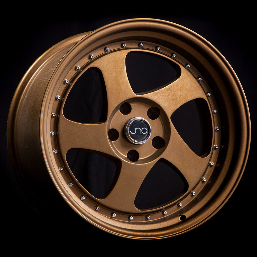JNC Wheels 034 Matte Bronze Sand Blasted.