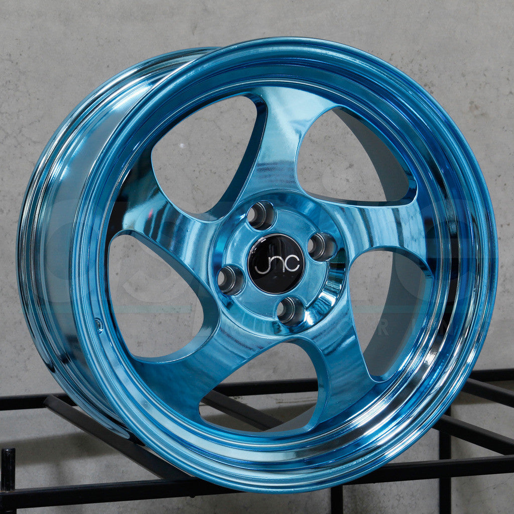 JNC Wheels 034 Chrome Blue