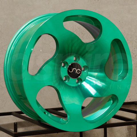 JNC Wheels 036 Transparent Green