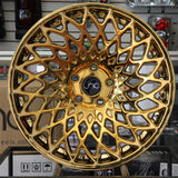 JNC Wheels 043 Platinum Gold
