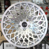 JNC Wheels 043 Silver Machine Face