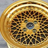 JNC Wheels 045 Platinum Gold.