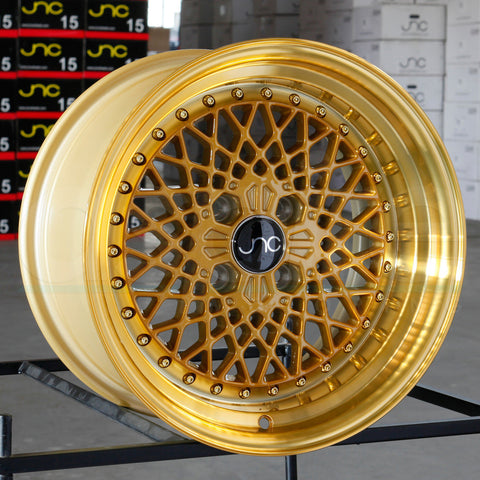 JNC Wheels 045 Transparent Gold.