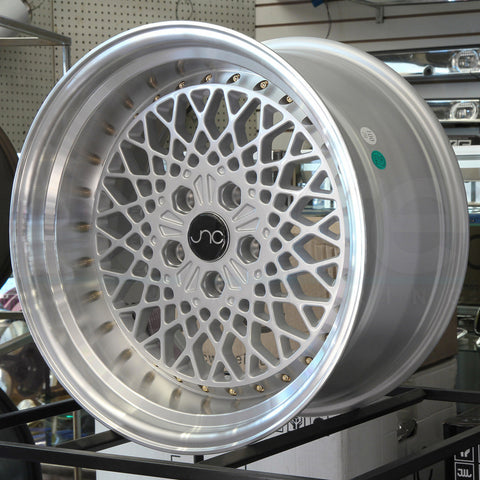 JNC Wheels 045 Silver Machine Lip.