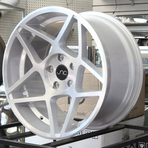 JNC Wheels 049 Silver Brushed