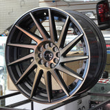 JNC Wheels 051 Matte Black Bronze Face,