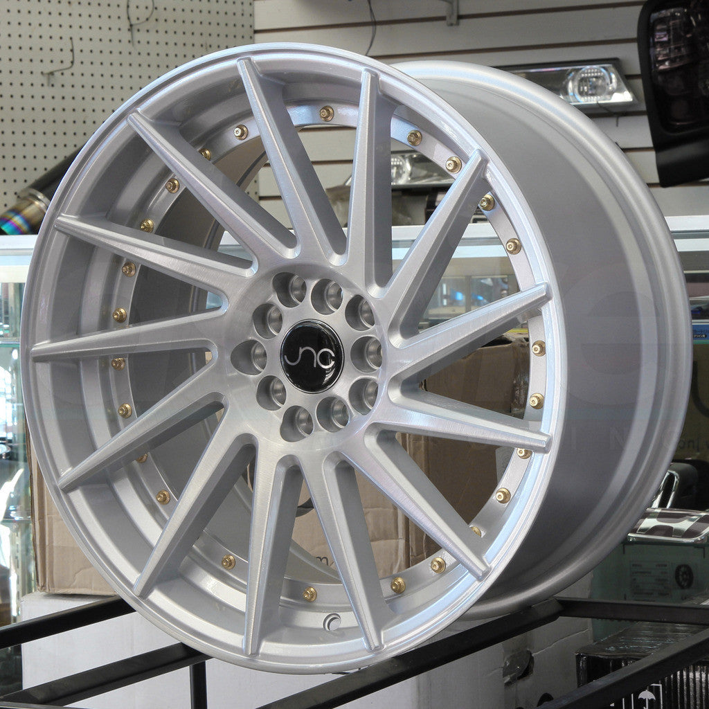 JNC Wheels 051 Silver Brushed.