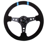NRG Innovations Double Mark Deep Dish Steering Wheel