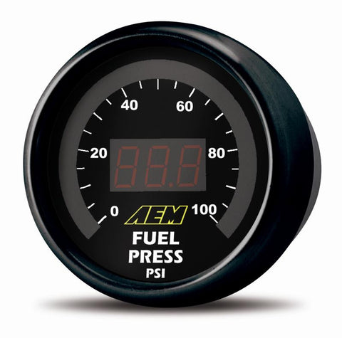 AEM Digital Oil/ Fuel Pressure Gauge
