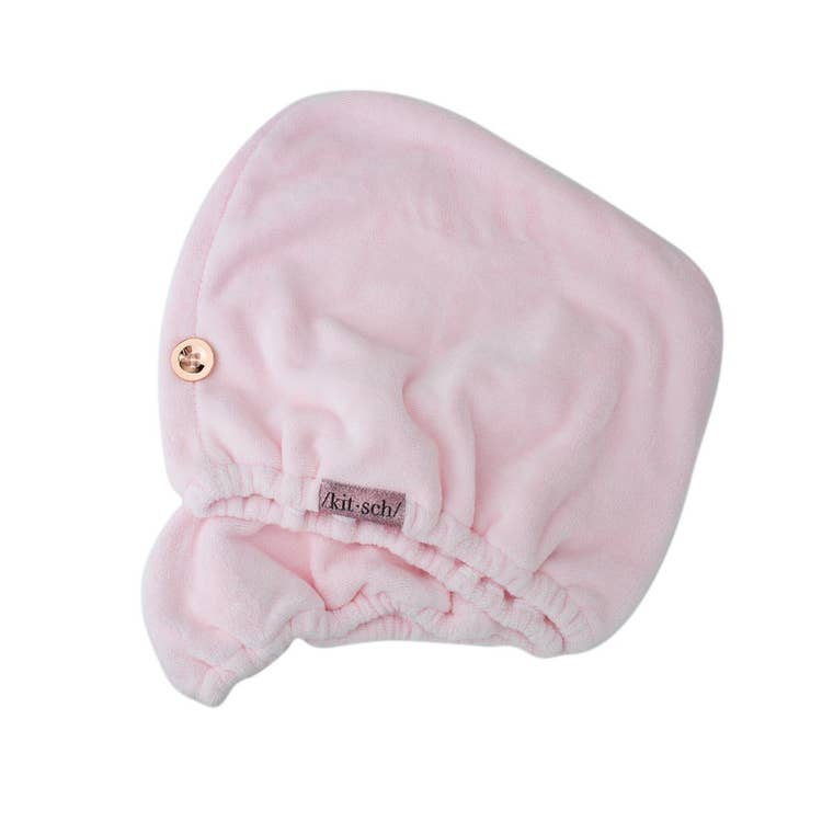 Kitsch Pink Micro Fiber Hair Towel - Cinderella Ranch Boutique