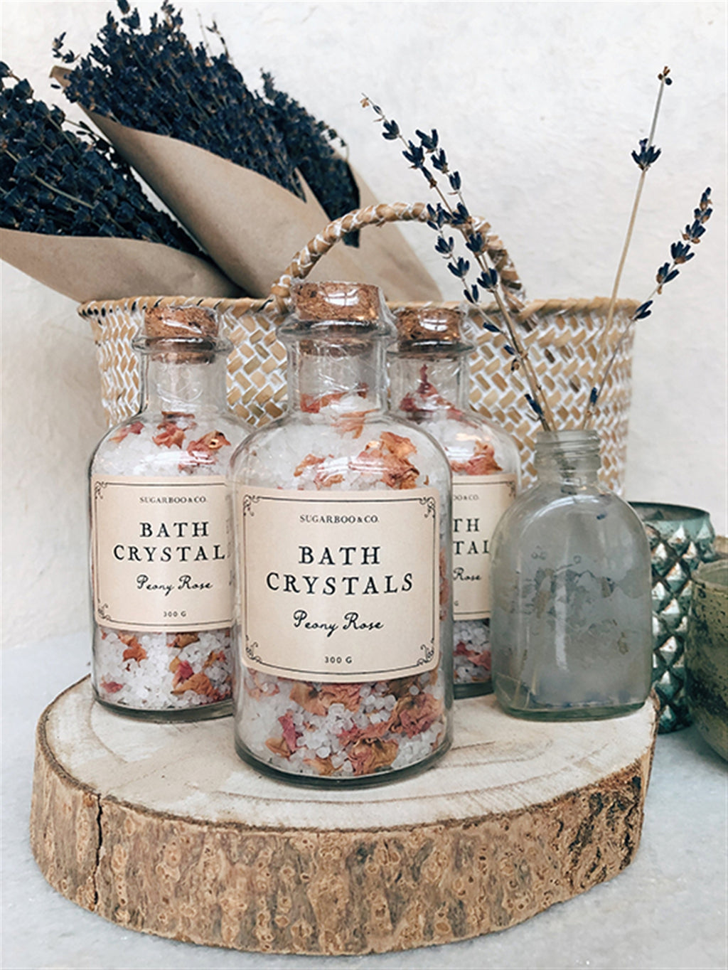 Peony Rose Bath Crystals - Cinderella Ranch Boutique