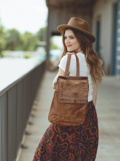 Bed|Stu Patsy BackPack - TAN RUSTIC - Cinderella Ranch Boutique