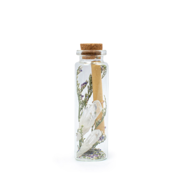 Crystal Wishing Bottle - Cinderella Ranch Boutique