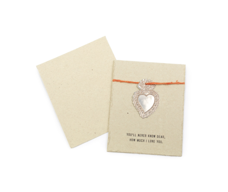 Milagro Heart Card - Cinderella Ranch Boutique