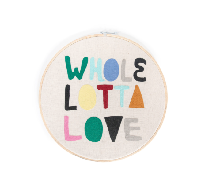 Whole Lotta' Love Hoop - Cinderella Ranch Boutique