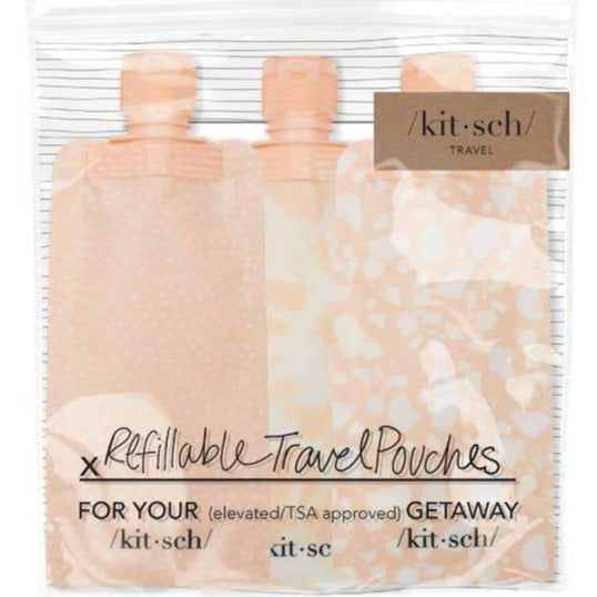 Kitsch Refillable Travel Pouches - Cinderella Ranch Boutique