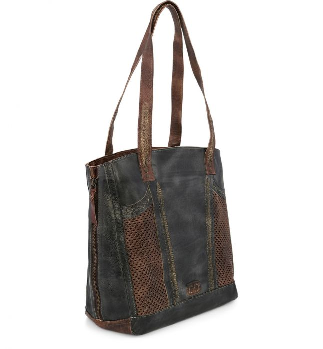 BED|STU AMELIE BAG - BLACK TEAK RUSTIC - Cinderella Ranch Boutique
