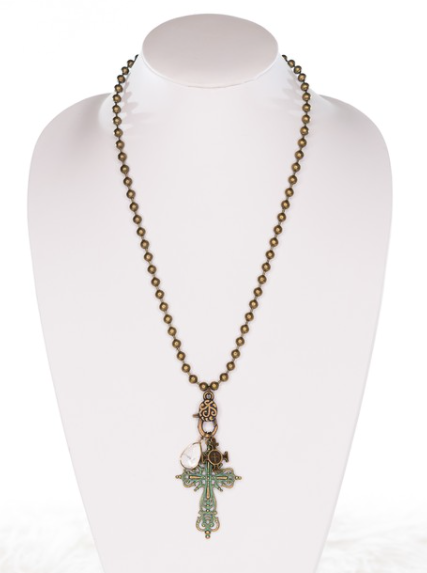 Helen Charm Necklace - Cinderella Ranch Boutique