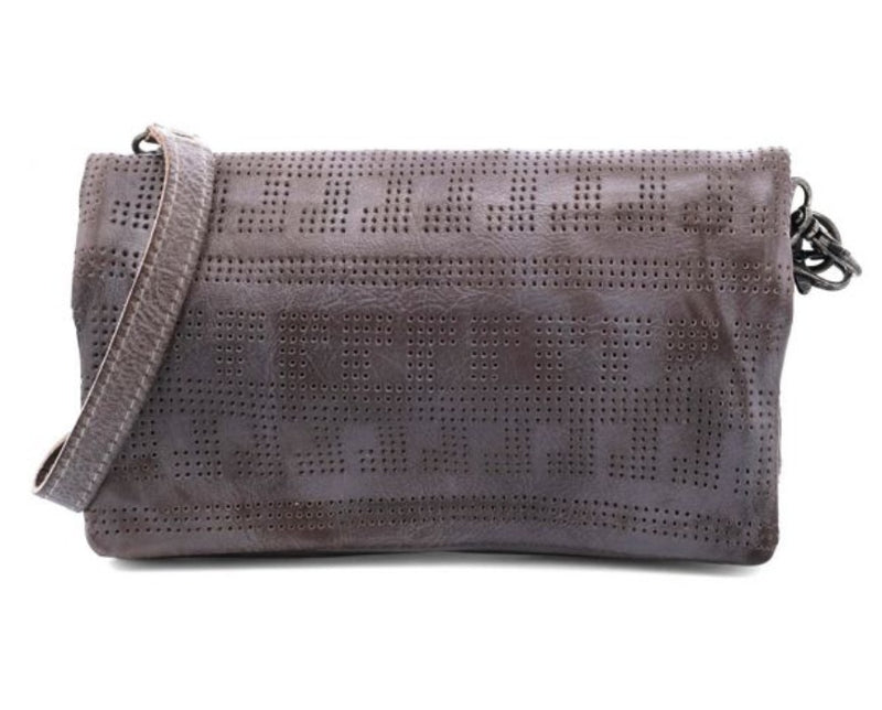 BED|STU BAYSHORE CROSSBODY - GREY RUSTIC - Cinderella Ranch Boutique