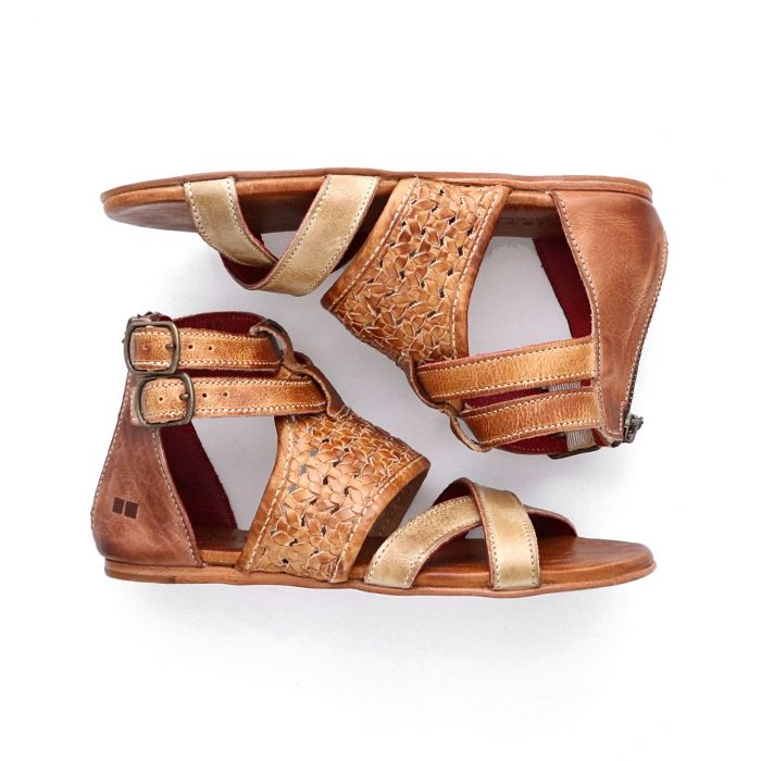 BED|STU Capriana Sandal - Cafe Latte Rustic - Cinderella Ranch Boutique