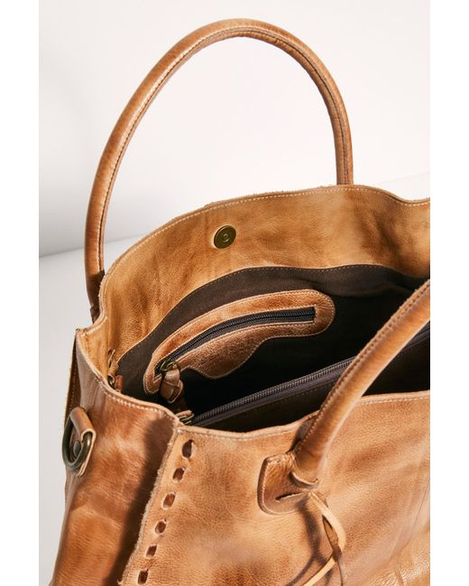 BED|STU ROCKAWAY BAG - TAN RUSTIC - Cinderella Ranch Boutique