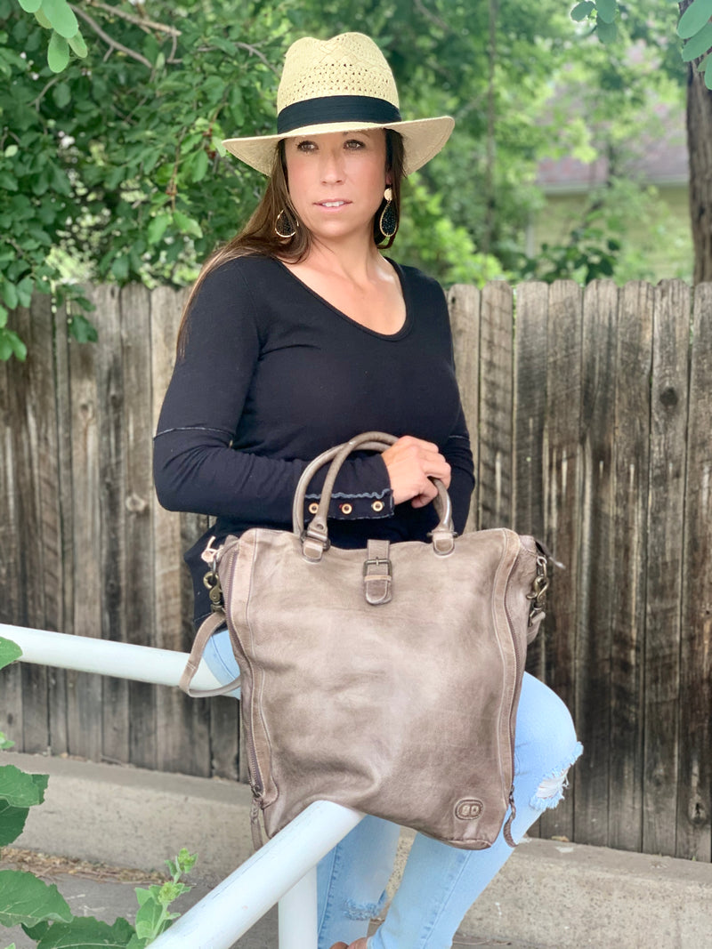 BED|STU MILDRED BAG - TAUPE DD - Cinderella Ranch Boutique