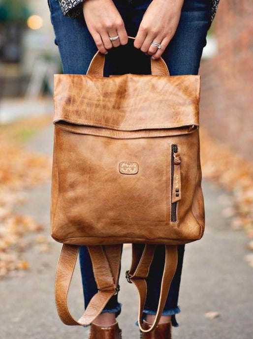 BED|STU HOWIE BACKPACK - TAN RUSTIC - Cinderella Ranch Boutique