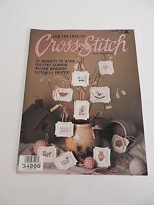 For the Love of Cross Stitch magazine January 1989 Victorian Pretties 31 project