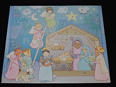 American Greetings Advent Calendar Childrens Nativity Christmas Calendar