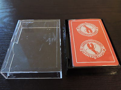 Calgary Stampede Greatest Outdoor Show New Playing Cards Red 1975 Canada Game