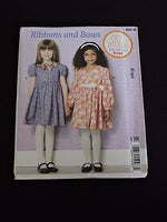 Ellie Mae Designs Kwik Sew Pattern K190 Ribbons and Bows Party Dresses 3-10