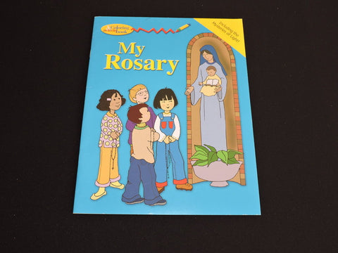 My Rosary Coloring & Activity Book Catholic Learn Prayer Gift Toy Pauline Kids
