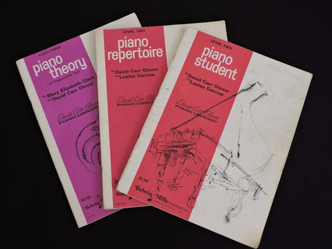 Belwin Mills Lot 3 Piano Music Books Student Repertoire Theory Levels 2 & 3 Glov