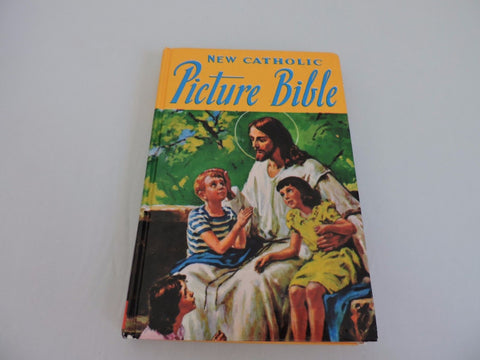 New Catholic Picture Bible Popular Stories Old & New Testaments Book illustrated