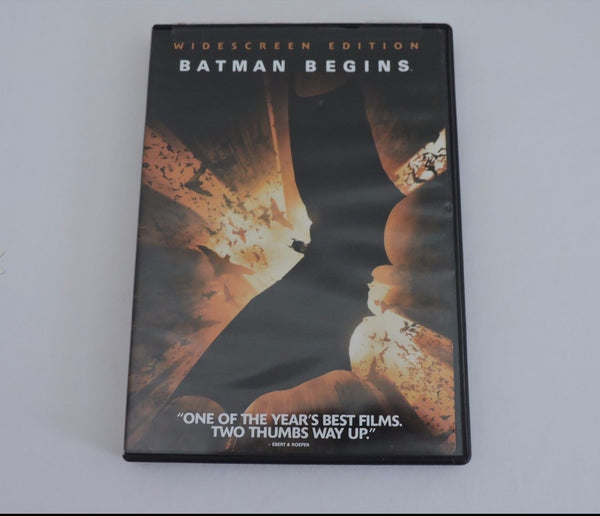 Batman Begins Widescreen Edition DVD Movie PG13 Action Superhero Region 1