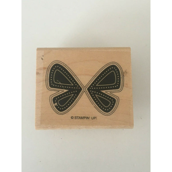 Stampin Up Butterfly Wings Rubber Stamp Nature Insects Garden Outdoors Crafts